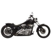 Bassani Échappement Radial Sweepers 86-15 Chrome / Noir - Softail / FLD / Dyna
