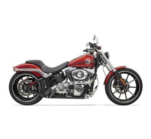 Bassani Harley Davidson Auspuff-Radial-Kehrmaschinen 86-15 schwarz / chrom