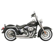 Bassani uitlaat Firepower Series FLH / FX / Softail 86-15 chroom