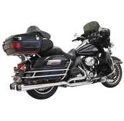 Bassani exhaust  Down Under MEG 09-15 Chrome/Black