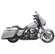 Bassani exhaust  DownUnder 4inch 09-15FLH/FLT Chrome/Black