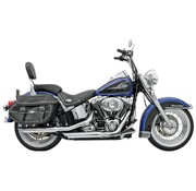 "Bassani Slip-On Schalldämpfer Slash-down 3 ""Feuerkra Series 07-17 Softail - Chrom"