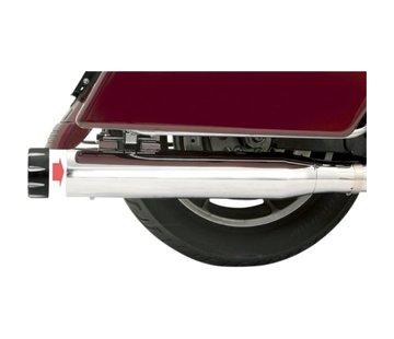 """Bassani 4 """"Slip-On Schalldämpfer Quick Change FL 95-15 - Chrome"""