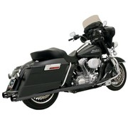 Bassani exhaust 4 inch  Slip-On Mufflers Tapered Megaphone 95-16FL - Black