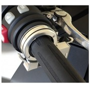 Brakeaway cruise control - Schuift over en wordt aan de buitenkant van een 1 3/16 inch tot 1 3/8 inch diameter handgreep gemonteerd.