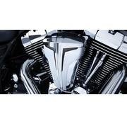 Filtro de aire Kit de cifrado de Chrome / Silver 08-up FLT; 14-up Twincam (ESPFI)