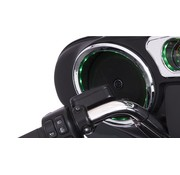 TC-Choppers Dash accent lighted Chrome 14-up FLHT