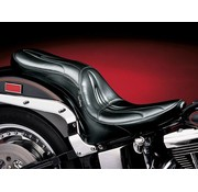 Le Pera seat Sorrento 2-up 00-16 Softail with 150mm rear tire