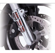 TC-Choppers Lower frontsuspension leg cover Chrome/Black 14-up FLH/T - lighted