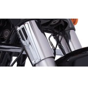 TC-Choppers Tin fork accent Chrome/Black 14-up FLH/T