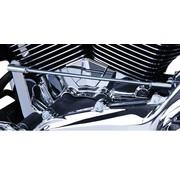 Engine  Cylinder Base Cover Chrome '07-UP FLH/FLT '06-'UP Dyna