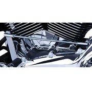TC-Choppers Engine Cylinder Base Cover Chrome '07-UP FLH/FLT '06-'UP Dyna