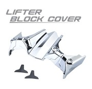 TC-Choppers Harley Engine Tappet Block Cover chroom 07-up-Harley Touring FLH FLT