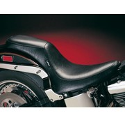 Le Pera seat Silhouette 2UP Smooth 00-16 Softail with 150mm rear tire