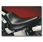 Le Pera seat solo  Bare Bone Smooth Biker Gel 84-99 Softail