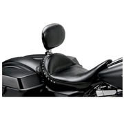 Le Pera seat solo Monterey Smooth with backrest  Fits: > 08-20 Touring