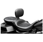 Le Pera seat RT66 2-up with backrest  Fits: > 08-20 Touring