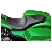 Le Pera seat   Villian PYO Smooth 08-16 FLH/FLT with Paul Yaffe/Bagger Nation Stretched Gas Tank for s.