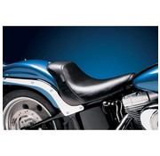 Le Pera seat solo Bare Bone Smooth Biker Gel  Fits: > 06-17 Softail with 200 rear tire