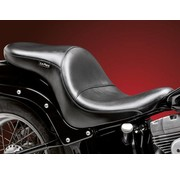 Le Pera seat   Maverick 2-up Full Length Smooth 84-99 Softail Evo
