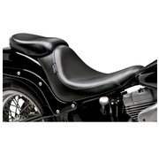 Le Pera zitplaats solo Pillion Pad Silhouette Smooth 06-16 Softail - 200 mm achterband