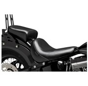 Le Pera seat solo Pillion Pad Bare Bone Smooth Softail 11-13 FXS Blackline 12-16 FLS Slim '13 FXSB