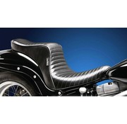 Le Pera LePera, Cherokee 2-up seat. Pleated Fits: > 06-17 Softail