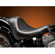 Le Pera Seat Silhouette DeLuxe Solo Smooth 13-16 FXSB Softail