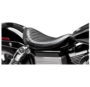 Le Pera seat solo  Lil Nugger Pleated 06-16 FLD/FXD Dyna