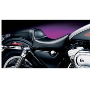 Le Pera seat   Daytona Sport Smooth 04-06 and 10-14 Sportster XL with 3.3 Gallon Gas Tank for