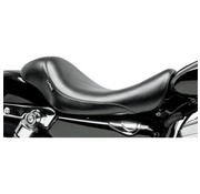 Le Pera seat solo Silhouette Smooth 07-09 Sportster XL with 4.5 Gallon Tank.