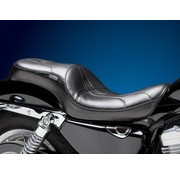 Le Pera zadel Sorrento 2-up Smooth 07-09 Sportster XL met 3.3 Gallon Tank.
