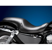 Le Pera seat   Silhouette Up Front Smooth 07-09 Sportster XL with 4.5 Gallon Tank.