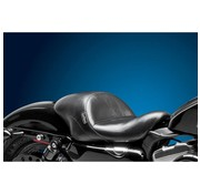 Le Pera seat solo  Aviator Up Front Smooth 04-06 and 10-14 Sportster XL with 4.5 Gallon Gas Tank for