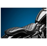 Le Pera Seat Cobra 2-up Diamond 04-06 and 10-up XL Sportster