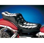 Le Pera Regal 2-up seat. One-piece seat. Pleated Fits: > 64-84 FL, FX