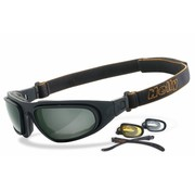 Helly Goggle Sunglasses eagle and clear Fits: > all Bikers