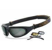 Helly Goggle zonnebril adelaar en duidelijk Past op:> alle Bikers