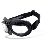Helly Goggle Sunglasses RB 2 - Black clear Fits: > all Bikers