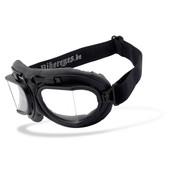 Helly Goggle Zonnebril RB 2 - Zwart helder Past op:> alle Bikers