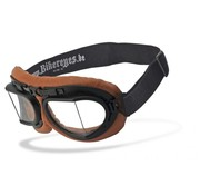 Helly Goggle Sunglasses RB 2 - brown clear Fits: > all Bikers