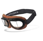 Helly Goggle zonnebril RB 2 - bruin helder Past op:> alle Bikers