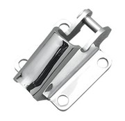 kickstand mount Chrome - 85-99 Big Twin