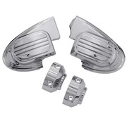 TC-Choppers handlebars master cilinder cover (without mirror) - Chrome 14-16 FL Touring FLH/FLT