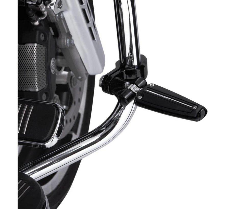 Harley Davidson Controls Clamp pinless gaffel - Chroom / Zwart