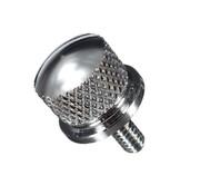 Sattelknopf poliert Billet-Aluminium - 1 / 4-20