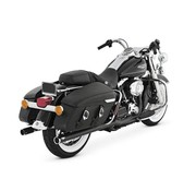 Vance & Hines exhaust  Touring FLH/FLT Big Shots Duals 2 into 2 - Black