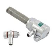 Spyke benzine tank benzine kraan High flow Chroom 3 / 8NPT