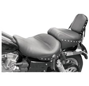 Mustang seat   Wide Studded 2-up Plain 96-03 FXD/WG
