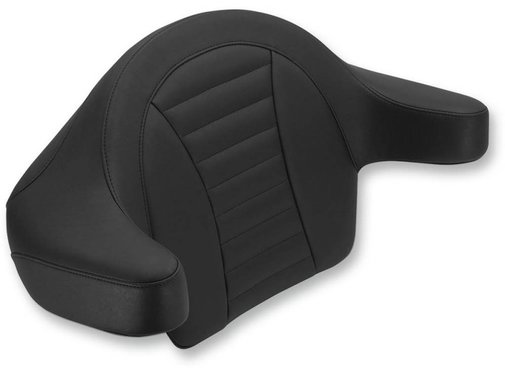 Mustang seat   Touring FLH/FLT wrap-around passenger backres Fits:> king Tour-Paks 2013 and priorROADKING 08-17 - FLHT&FLTR 08-17 - FLHX STREET GLIDE 08-17 TRI-GLIDE and STREET GLIDE TRIKE 09-17